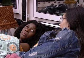 Camilla diz estar chateada com a postura de Fiuk no BBB 21