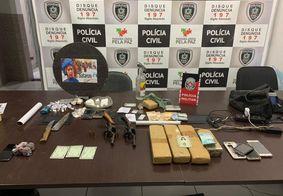 Operação prende oito suspeitos de homicídios e tráfico de drogas na PB