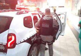 Sargento da polícia é baleado durante assalto em posto de gasolina, na Paraíba