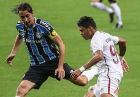 Diego Souza decide e Grêmio vence Fluminense em estreia no Brasileirão