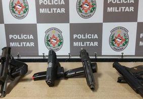 Mulher é presa em hotel com quatro armas de fogo em João Pessoa