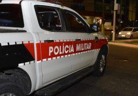 PM prende em flagrante suspeito de arrombamento de veículo no Bessa