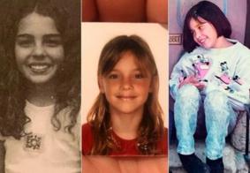 Famosas resgatam fotos aos 10 anos de idade para defender aborto legal