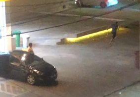 Confusão termina com disparos de arma de fogo em loja de conveniência, em João Pessoa