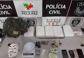 Polícia prende homem suspeito de tráfico e apreende 5 kg de cocaína em CG