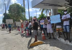Carroceiros realizam protesto contra o fim da atividade