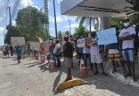 Protesto dos carroceiros em João Pessoa