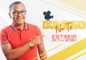 TV Tambaú estreia programa Domingo na TV, com Cícero Moreira
