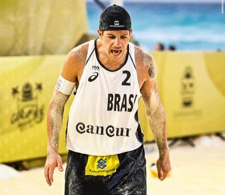 Álvaro Filho, paraibano no vôlei de praia