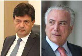 "Na Paraíba, ministro da saúde comenta prisão de Temer: ""Nunca militei no MDB"""