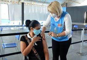 Mais de 30% da população paraibana está com vacinação completa