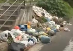 Vídeo: Moradores de João Pessoa reclamam de falta de coleta de lixo