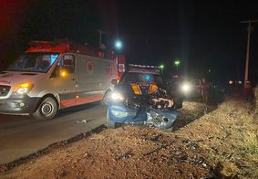 Homem morre após atropelar policial e colidir em viatura da PRF, na PB