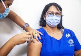 Quase 10 mil profissionais de saúde já foram vacinados em João Pessoa