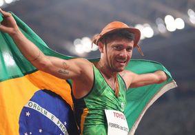 Petrúcio Ferreira conquistou ouro com recorde paralímpico