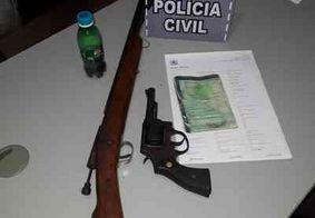 Suspeito de roubar moto é preso em flagrante no interior da Paraíba