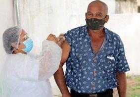 Município é o primeiro da Paraíba a vacinar utilizando apenas o critério da idade