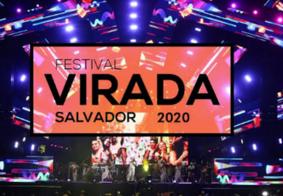 Terceira noite do Festival Virada Salvador é suspensa por conta de fortes chuvas