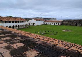 Fortaleza de Santa Catarina, em Cabedelo, está em programa de concessões do Governo Federal