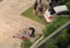 JP: Troca de tiros termina com dois presos e um morto