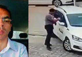 Damião foi morto dentro do carro em que trabalhava