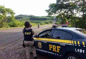 PRF registrou 17 acidentes com 14 pessoas feridas e duas mortes em rodovias federais da PB
