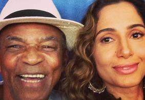 """""""Aprovado"""", diz pai de Camila Pitanga sobre relacionamento da filha com outra mulher"""