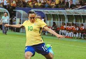 Marta é cortada da seleção brasileira para estreia de Pia