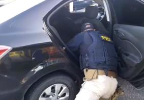 Dois homens são detidos pela PRF com 1 kg de cocaína na Paraíba