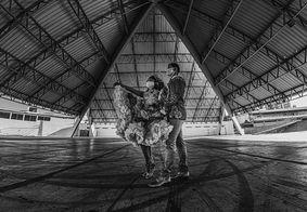 Fotos em preto e branco mostram São João de Campina Grande na pandemia