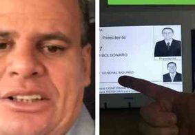 Radialista paraibano é denunciado após publicar foto da urna no Instagram