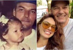 """Isis Valverde faz homenagem ao pai, um ano após morte: """"Coração dói"""""""