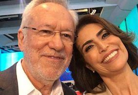 """Em áudio vazado, Giuliana Morrone detona Alexandre Garcia: """"Está gagá, tipo Regina Duarte"""""""