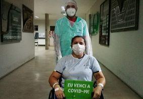 Mais um paciente transferido de Manaus tem alta médica do HU de João Pessoa