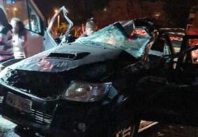Capotamento deixa ex-prefeito e família feridos no interior da PB