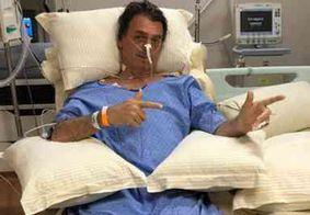 Bolsonaro segue estável e quer ir ao jogo do Palmeiras, após um dia de retirada da sonda nasogástrica