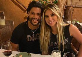 """Hulk comemora um ano de casamento com Camila Ângelo: """"Melhores 365 dias"""""""