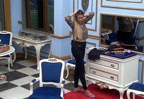Sarah especula que Carla Diaz voltou com nenhum poder do paredão falso