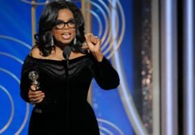 Oprah Winfrey faz discurso contra assédio sexual no Globo de Ouro