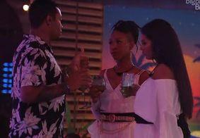 Discussão entre Nego, Karol e Pocah