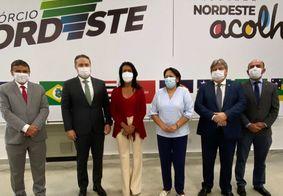 Comitiva do Consórcio Nordeste