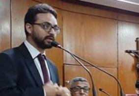 Vereador comunica afastamento após ser anunciado em Secretaria do Estado