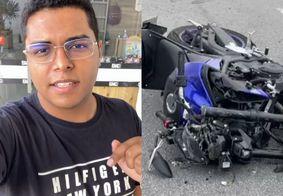 Isaac Filho, jovem que morreu um dia após ter a loja assaltada em João Pessoa