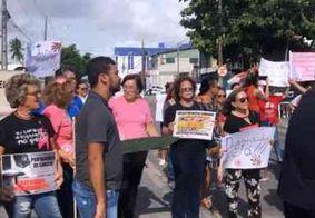 Manifestantes pedem retorno do passe livre em ônibus intermunicipais para pacientes com câncer na PB