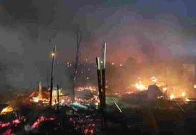 Explosão mata dois em suposto laboratório do tráfico no Alemão