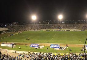 Torcida em um dos jogos do Belo na Série C de 2019