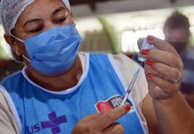 Prefeitura de JP vacina idosos com 65 anos ou mais a partir desta segunda