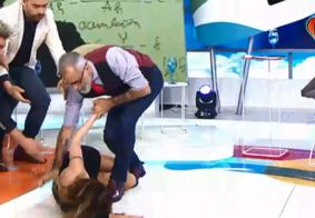 Vídeo: cantora argentina sofre AVC durante programa de TV