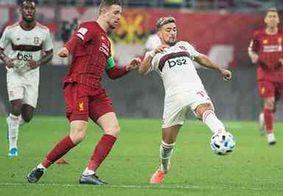 Flamengo e Liverpool empatam e partida vai para a prorrogação