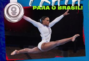 Rebeca conquistou medalha inédita para o Brasil